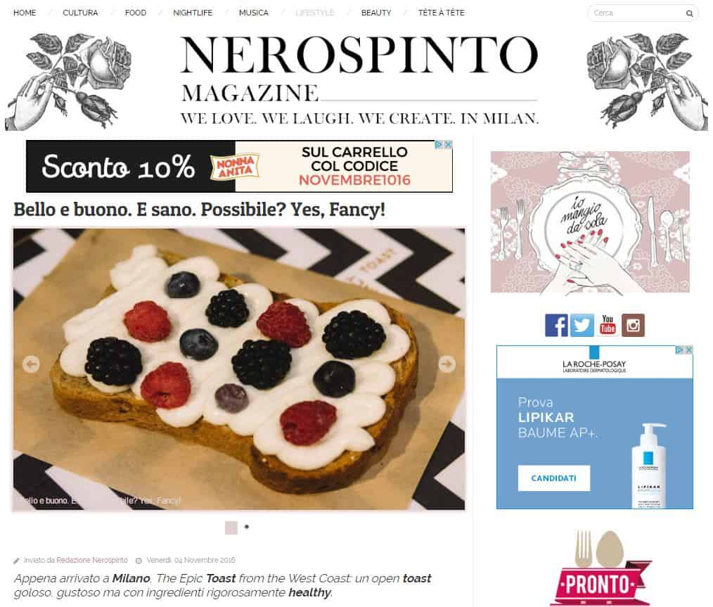 fancytoast su nero spinto