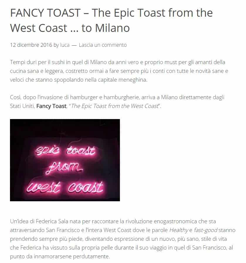 fancytoast su the g side