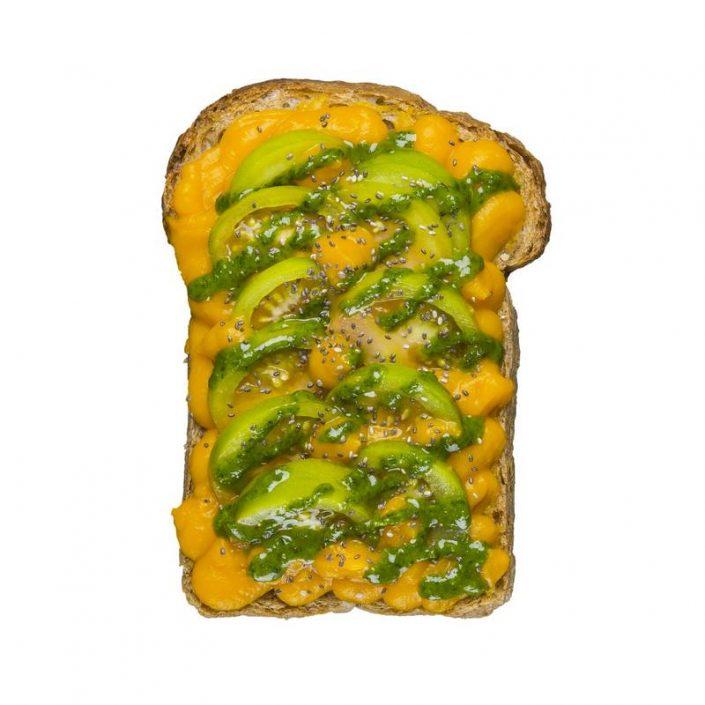 Pumpkin Veggy Toast