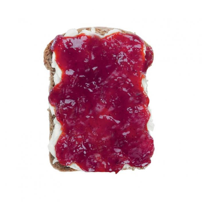 Jam and Salty Butter Toast