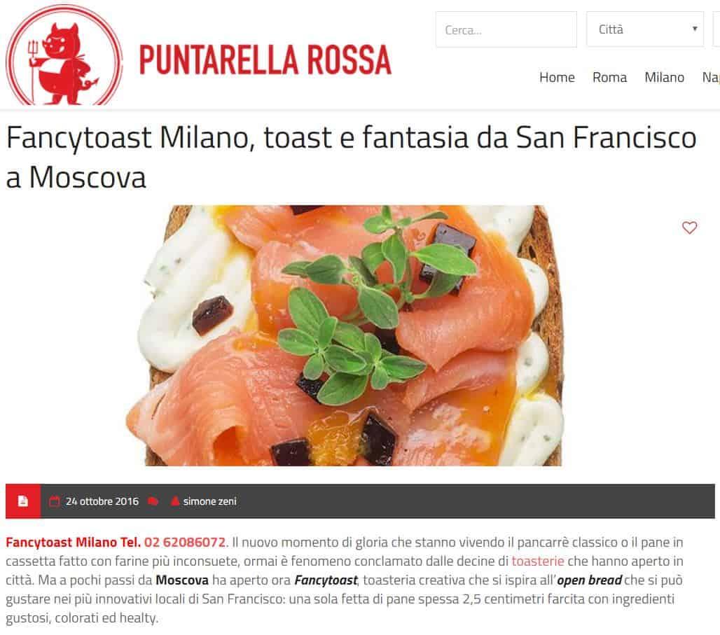 fancytoast su Puntarella Rossa