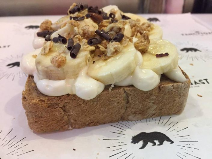 banana toast
