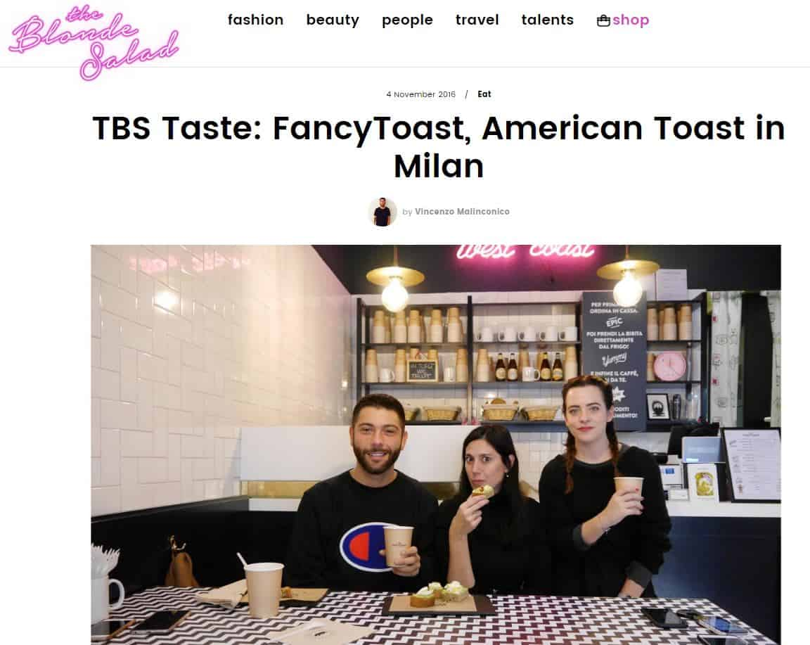 fancytoast su the blonde salad american toast in milan
