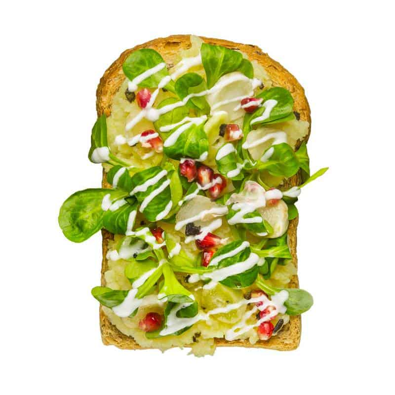 Potato Salad Toast