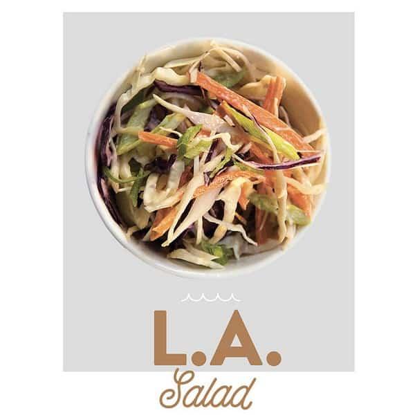 fancytoast LA salad
