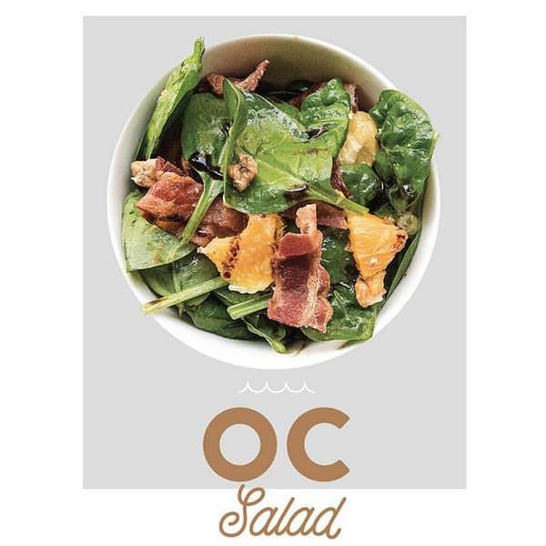 fancytoast OC salad