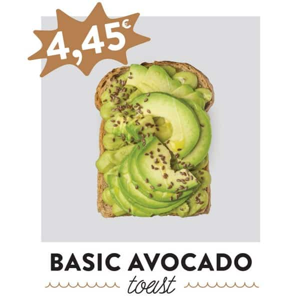 fancytoast basic avocado toast