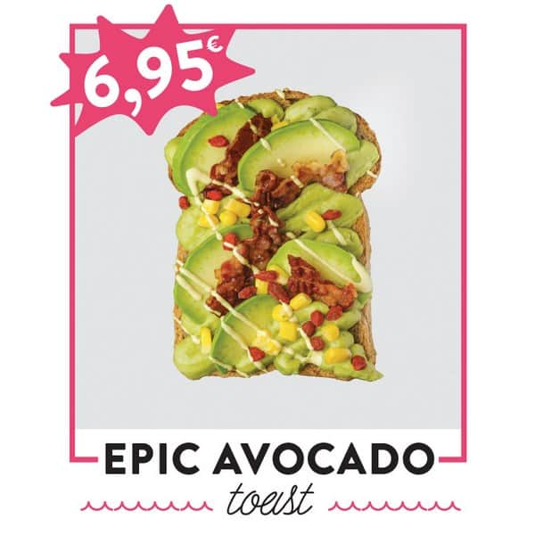 fancytoast epic avocado toast