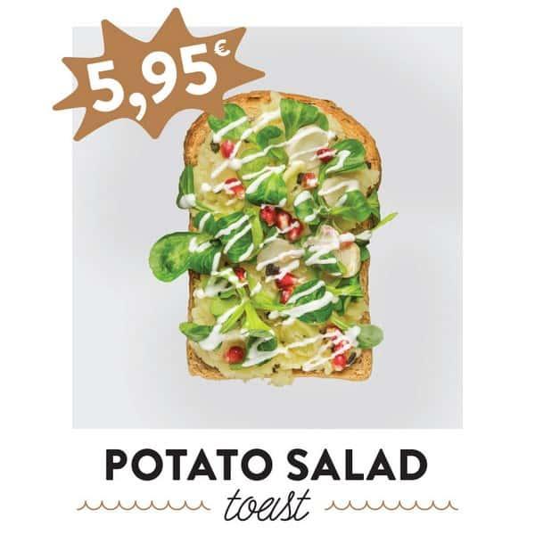 fancytoast potato salad toast