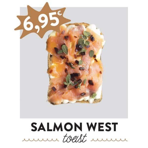 fancytoast salmon toast